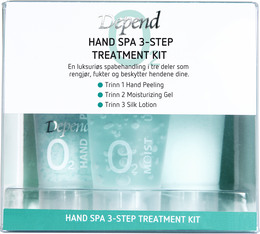 Depend O2 Hand Spa Start Kit