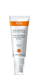 REN Clean Skincare Wake Wonderful Night Facial 40 ml