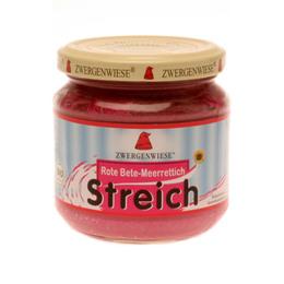 Smørepålæg veg.rødbede, peberrod streich Ø 180 g