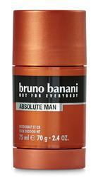Bruno Banani Absolute Man Deodorant Stick 75 ml