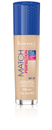 Rimmel Match Perfect Foundation 100 Ivory