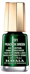 Mavala Mini Color Neglelak 191 Peacock Green