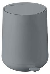 Zone Toilet/Pedal lspand, Nova, grå, 5 l.