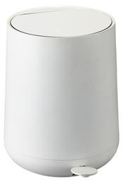 Zone Toilet/Pedal spand, Nova, hvid, 5 l.