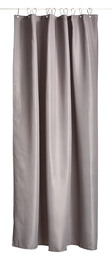 Zone Badeforhæng , grå, Lux, Polyester, 170 g, 200