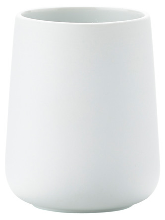 Zone Tandbørstekrus Nova/Hvid 8,3 x 10,3 cm