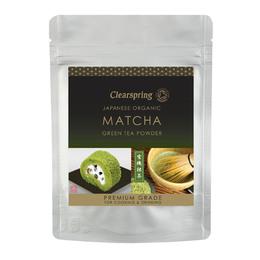 Matcha grøn te pulver (premium grade) Ø Cle 40 g