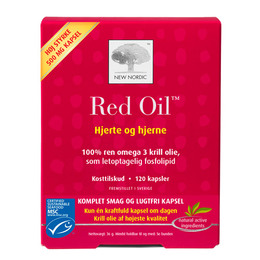 Red Oil omega 3 krill olie 120 kap