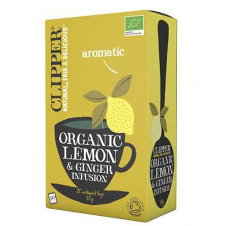 Citron & Ingefær te Ø Clipper