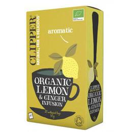 Citron & Ingefær te Øko Clipper  20 br.