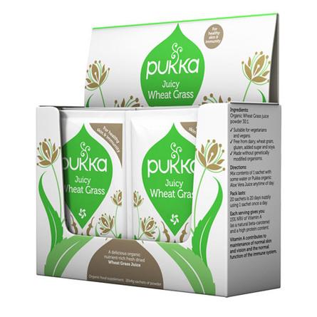 Wheatgrass juice pulver Ø Pukka