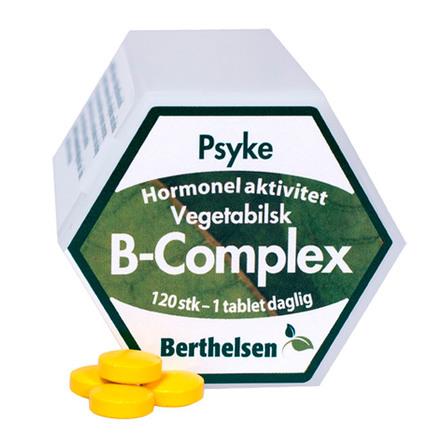 Vegetabilsk B-Complex Berthelsen 120 tab