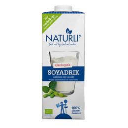 Sojadrik m. calcium og vanilje Naturli Ø 1 l