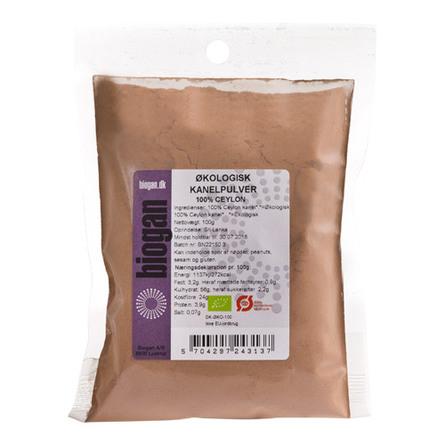 Kanelpulver 100% Ceylon Ø 100 g