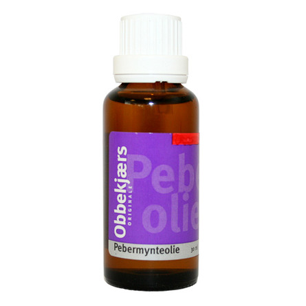 ObbekjærsPebermynte olie  30 ml