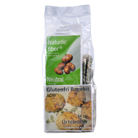 Naturlic Bagekit urteboller LCHF 250 gr.