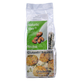 Bagekit urteboller LCHF glutenfri Naturlic 250 g