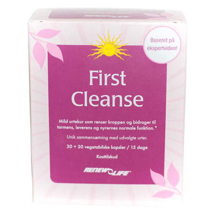 First Cleanse 60 kap