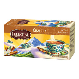 Mountain Chai decaf. Celestial