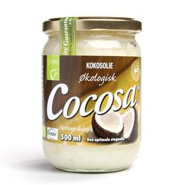 Cocosa ren kokosolie Ø som stegeolie 500 ml