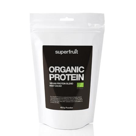 Superfruit Protein pulvermix cacao Øko 400 gr.