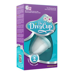 DivaCup model 2 menstruationskop