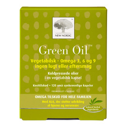 New Nordic Green Oil 120 kapsler