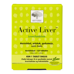 New Nordic Active Liver 120 tabl.