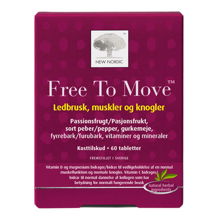 New Nordic Free to Move 60 tabl.