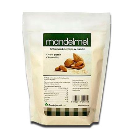 Sukrin Mandelmel 400 gr.