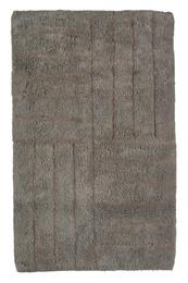 Zone Bademåtte, grå, 100% bomuld