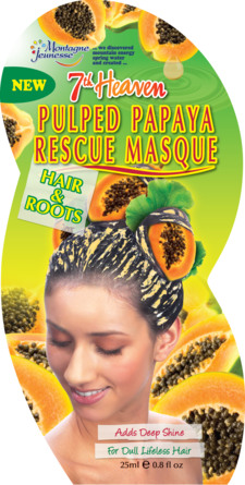 Montagne Jeunesse Hårmaske Pulped Papaya 25 ml