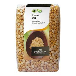 Cosmoveda Kikærter Øko  halveret og afskallet  500 gr.
