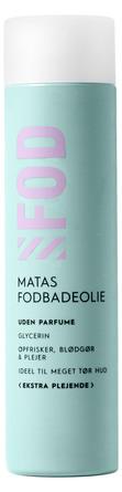 Matas Striber Fodbadeolie Ekstra Plejende Uden Parfume 250 ml