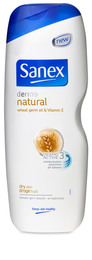 Sanex Shower Gel Dermo Natural 750 ml