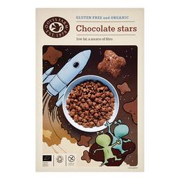 Chocolate Stars m. choko. gl.fri Doves Ø 375 g