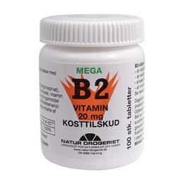 Mega B2 vitamin 20 mg 100 tab