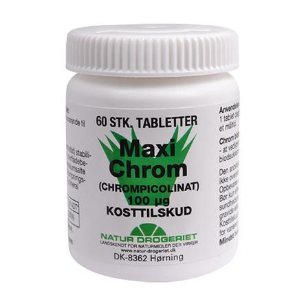 Maxi Chrom 100 ug 60 tab