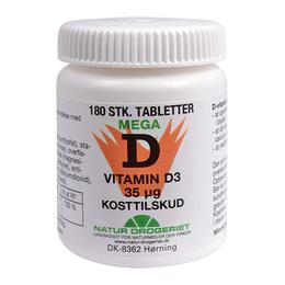 D3-vitamin 35 ug 180 tab