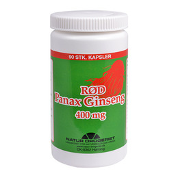 Rød Ginseng 400 mg 90 kap