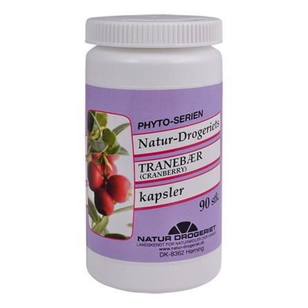 Natur Drogeriet Tranebær 500 mg 90 kapsler
