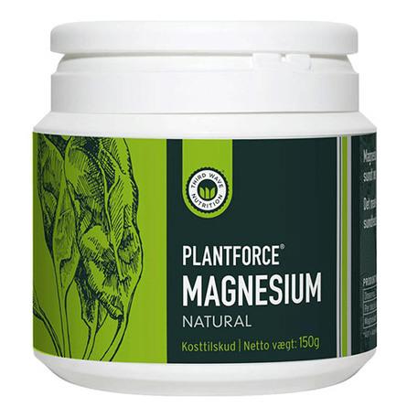 Magnesium neutral Plantforce  150 gr.