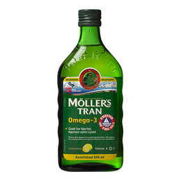 Møllers Tran m/citrus 500 ml