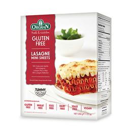 Lasagne plader mini glutenfri 200 g