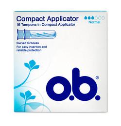 O.B. o.b. ProComfort tampon m/applikator - Norm.16 stk.