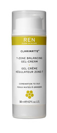 REN Clean Skincare Clarimatte T-Zone Balancing Gel Cream 50 ml