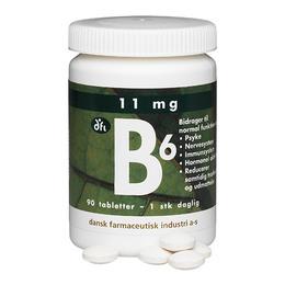Dansk Farmaceutisk Industri B6 11 mg depot, 90 tabl.