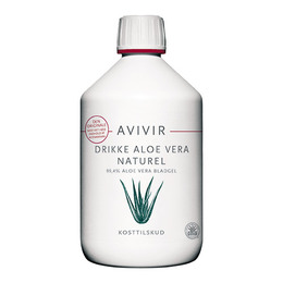 AVIVIR Drik Aloe Vera Naturel 500 ml