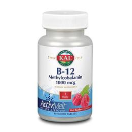 KAL B12 Methylcobalamin  90 tabl.