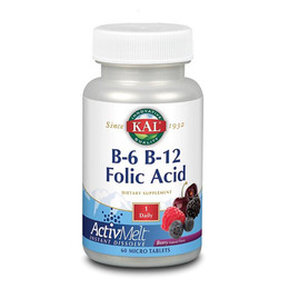 B6 - B12 - Folsyre 60 tab